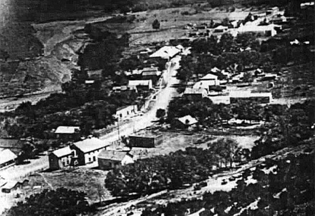 Вид Линкольна сверху. 1880-е годы XIX века