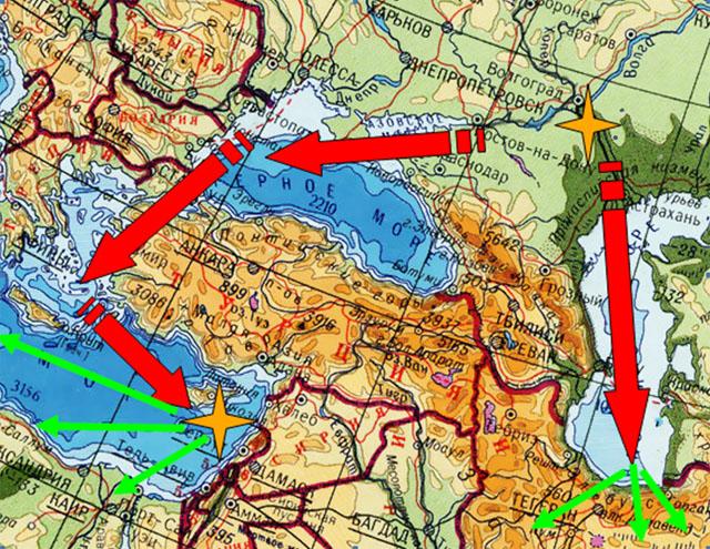 Волга как новая транспортная ось зернового экспорта России