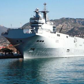 Французский флагман российского флота