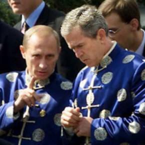 Русский журнал :: Две войны Путина и Медведева