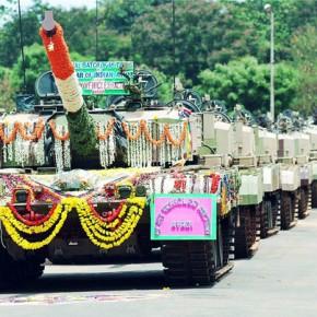 Знает Индия танки