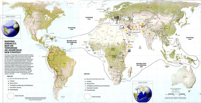 Картографируя войну Америки против терроризма: Агрессивная новая стратегия. Томас П.М. Барнетт