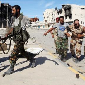 Новости 21.10.2012: На центральных улицах ливийского города Бани-Валид идет ожесточенный бой