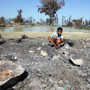 Новости 28.10.2012: Более 22 тыс человек стали беженцами из-за столкновений в Мьянме
