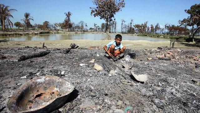 Более 22 тыс человек стали беженцами из-за столкновений в Мьянме.