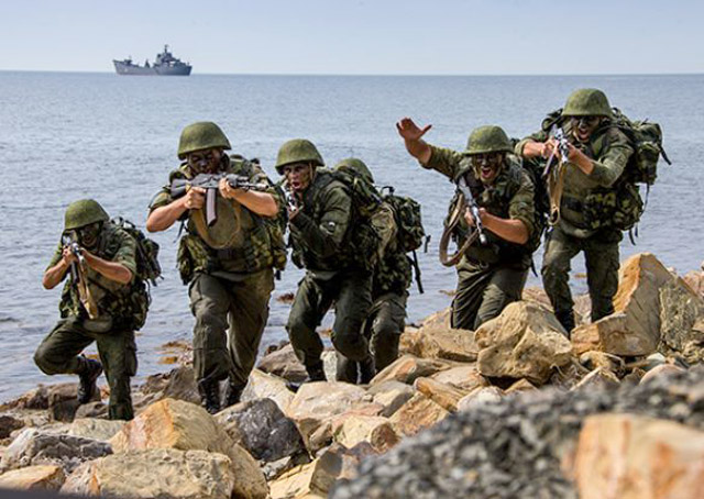 Russian Military Exercises Frighten Georgia.