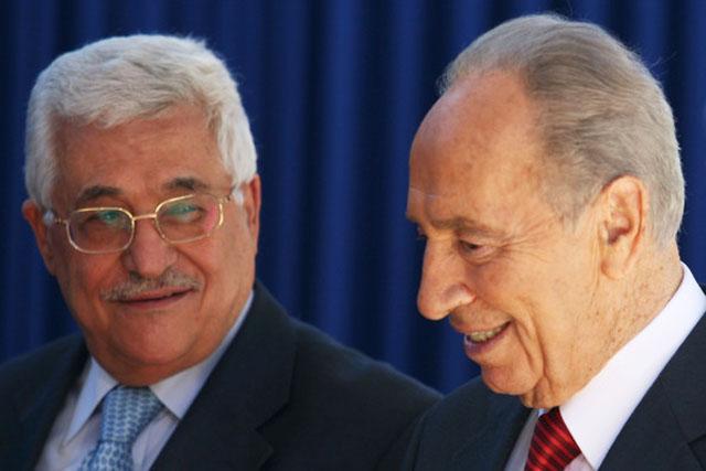 """Глава Израиля призвал """"протянуть руку мира"""" Аббасу."""