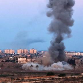 Новости 17.11.2012: Израильская авиация нанесла удары по штаб-квартире ХАМАС в Газе.