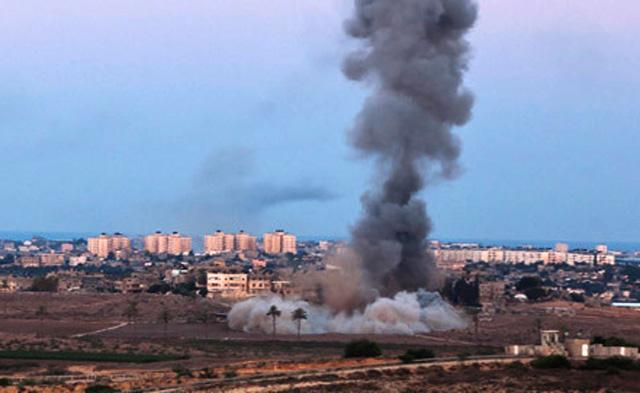 Израильская авиация нанесла удары по штаб-квартире ХАМАС в Газе.