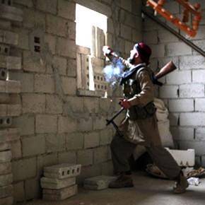 Новости 24.11.2012: Сирийские курды ведут бои с группировками экстремистов в провинции Эль-Хасика.