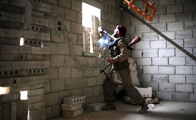 Сирийские курды ведут бои с группировками экстремистов в провинции Эль-Хасика