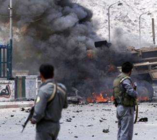 В Афганистане на американской военной базе прогремели два взрыва