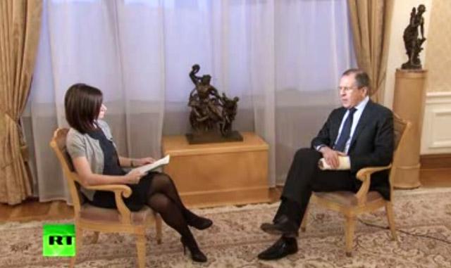 Лавров отказался уговаривать Асада