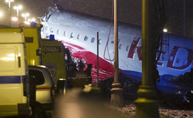 Пострадавшие в результате катастрофы самолета Ту-204 во Внуково по-прежнему находятся в тяжелом состоянии