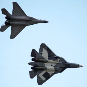 Новости 23.12.2012: Восемь истребителей Т-50В испытают в Ахтубинске в 2013-м - главком ВВС России.