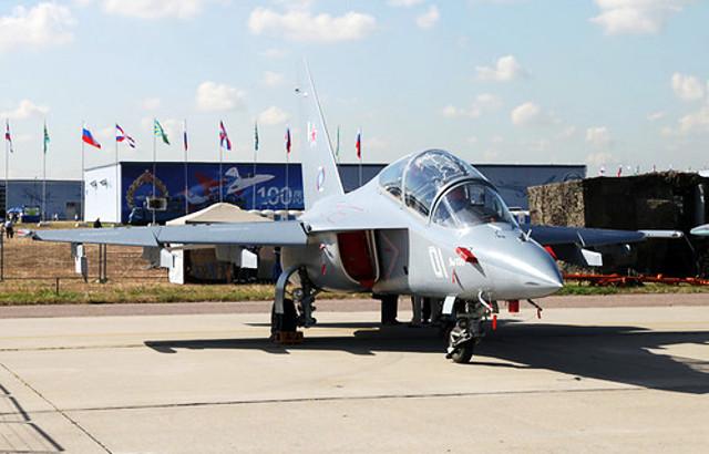 Белорусские военлеты первыми в СНГ получат Як-130