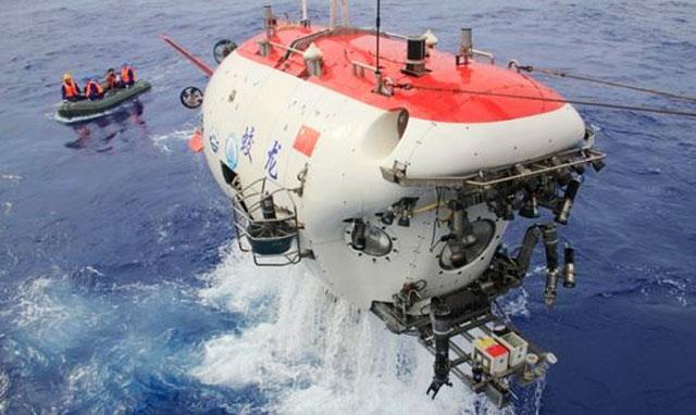 Китайская субмарина Jiaolong самая глубоководная в мире