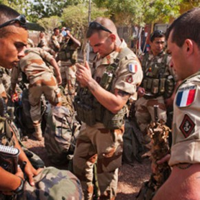 Новости 21.01.2013: Французский военный контингент продолжил наступление в Мали