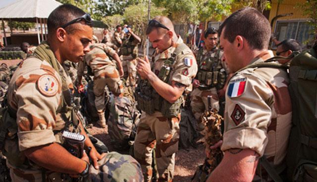 Французский военный контингент продолжил наступление в Мали