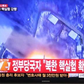 Новости 12.02.2013: КНДР официально объявила о том, что провела ядерное испытание
