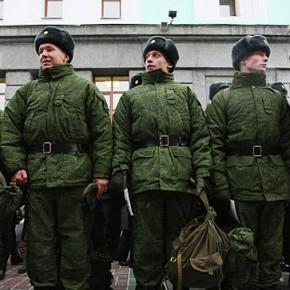 Новости 13.02.2013: Солдат смогут посылать в горячие точки через 4 месяца с начала службы