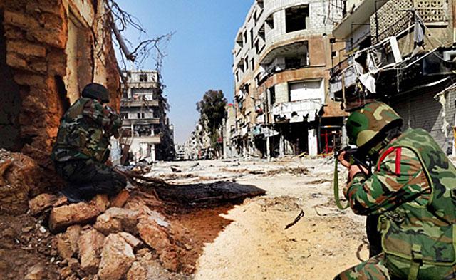 Сирийские войска отбили атаки боевиков под Дамаском