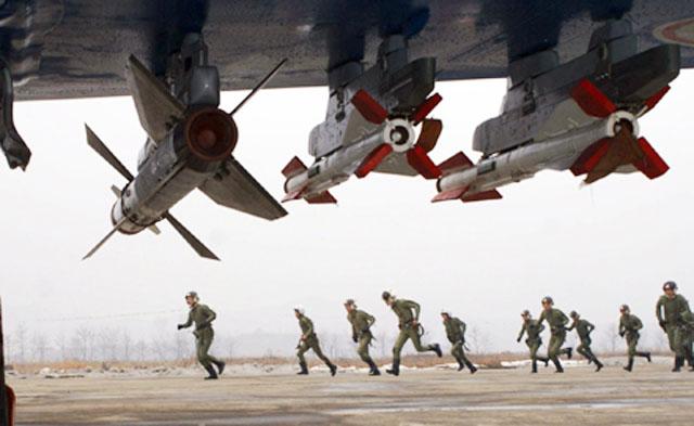 Воздушная тревога была объявлена в городах КНДР