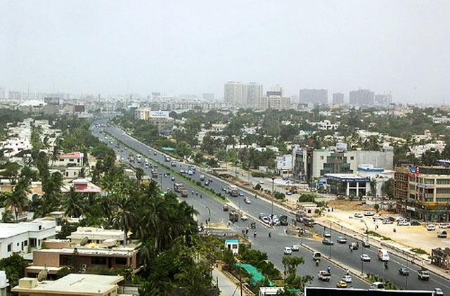 Портовый город на юге Пакистана Карачи