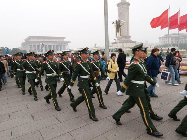 Китай создает мощную группировку на границе с КНДР
