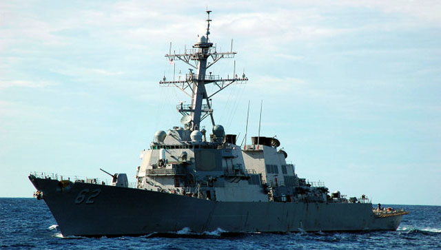 США направили к корейским берегам ракетный эсминец