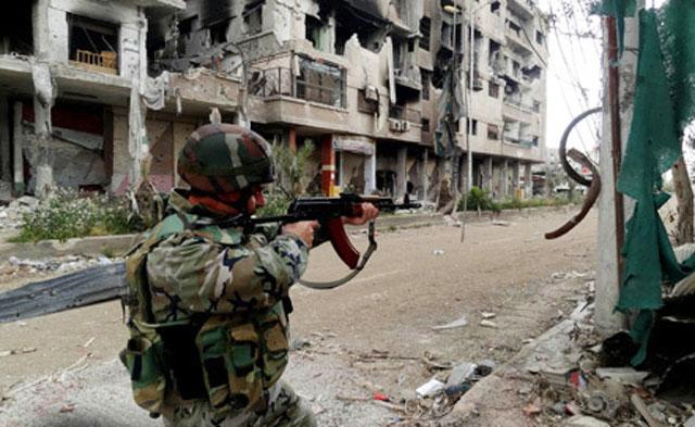 Сирийские войска установили контроль над окрестностями Дамаска, боевикам предъявлен ультиматум
