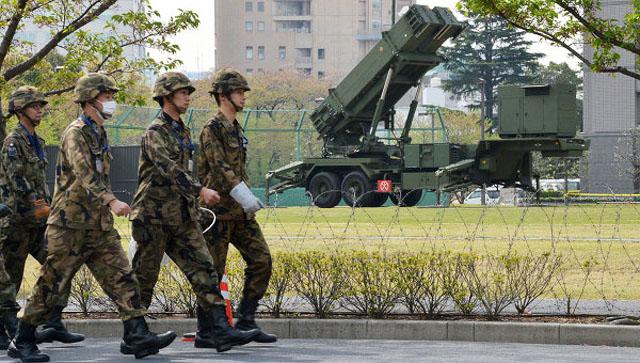 """Япония разместила ЗРК """"Пэтриот"""" у здания Минобороны"""