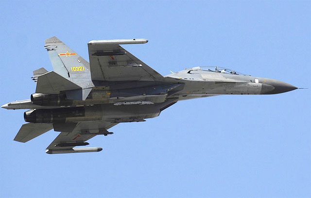Китай разместил на Тибете авиагруппу истребителей Су-27