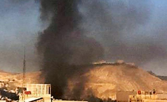 Израиль нанес ракетный удар по исследовательскому центру в пригороде Дамаска