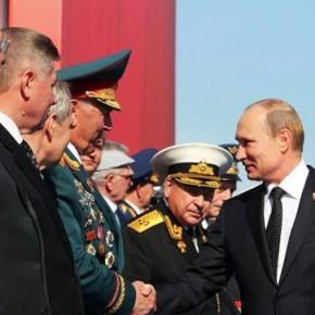 Новости 09.05.2013: Россия сделает все для сохранения мира на планете, заявил Путин