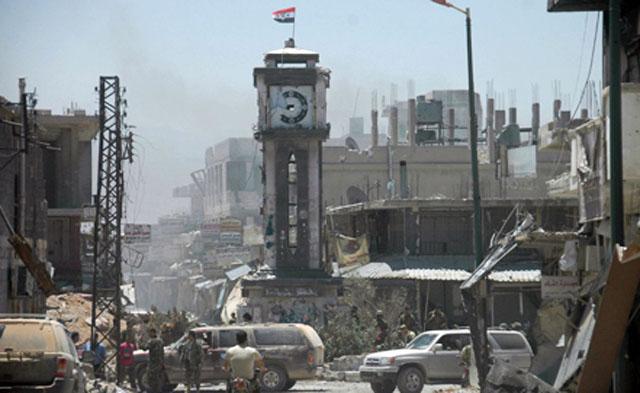 Сирийские войска очистили окрестности Эль-Кусейра от боевиков