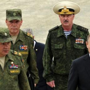 Новости 17.07.2013: Владимир Путин доволен тем, как проходят военные учения в Восточном военном округе