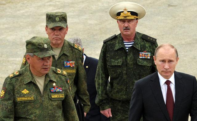 Владимир Путин доволен тем, как проходят военные учения в Восточном военном округе