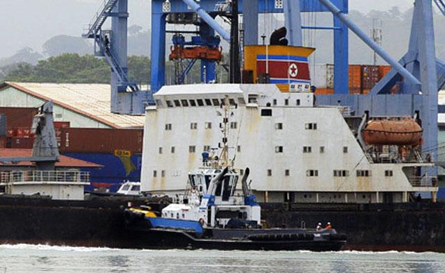 Панама уведомила санкционный комитет Совбез ООН о задержании северокорейского судна