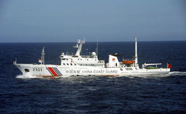 Корабли морской полиции КНР впервые вошли в зону, которую Токио считает своей