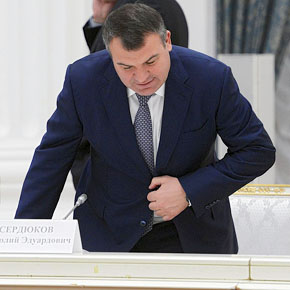К зятю Анатолия Сердюкова пришли с обысками