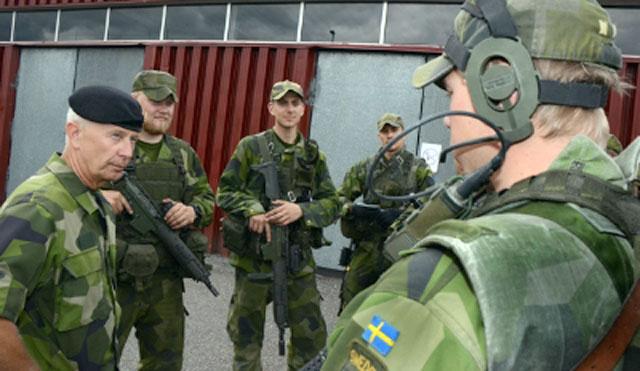 Швеция предложила создать общескандинавский спецназ