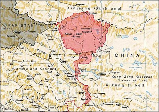 Китайские войска блокируют индийские патрули в приграничной зоне Ладакха