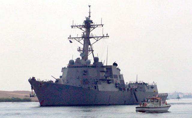 ВМС США объявили о расширении своего присутствия в Средиземном море