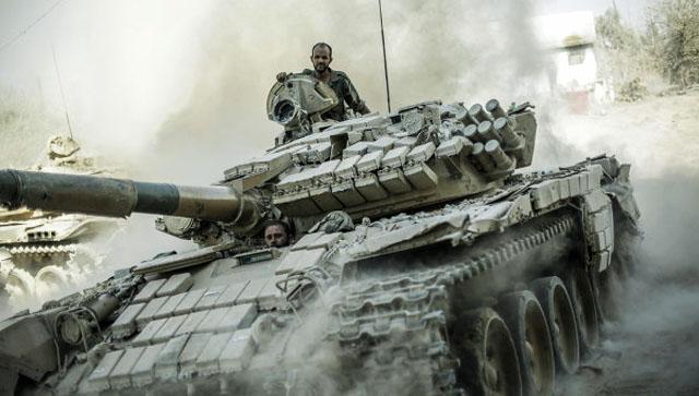 Готовится штурм пригорода Дамаска, где работали инспекторы ООН