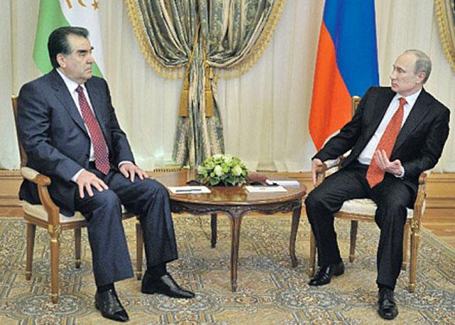 Рахмон привез Путину очередные обещания