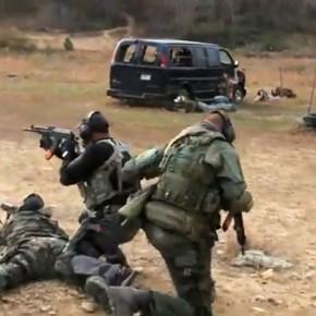 ВИДЕО (YouTube): Тренировка сотрудников частных военных компаний (ЧВК)