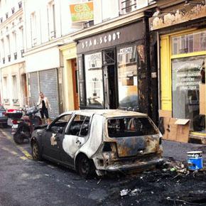 Раскатистое эхо Парижа