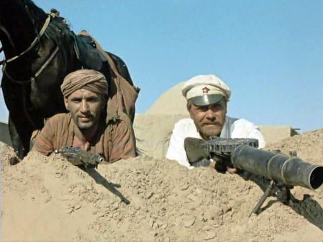 """Раз, два, три, четыре, пять, ваххабит идет искать. """"Абдулла, а что, если Сухов вернется?"""
