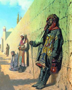 КАРТИНА: Верещагин В.В. ищие в Самарканде (1869-1870).